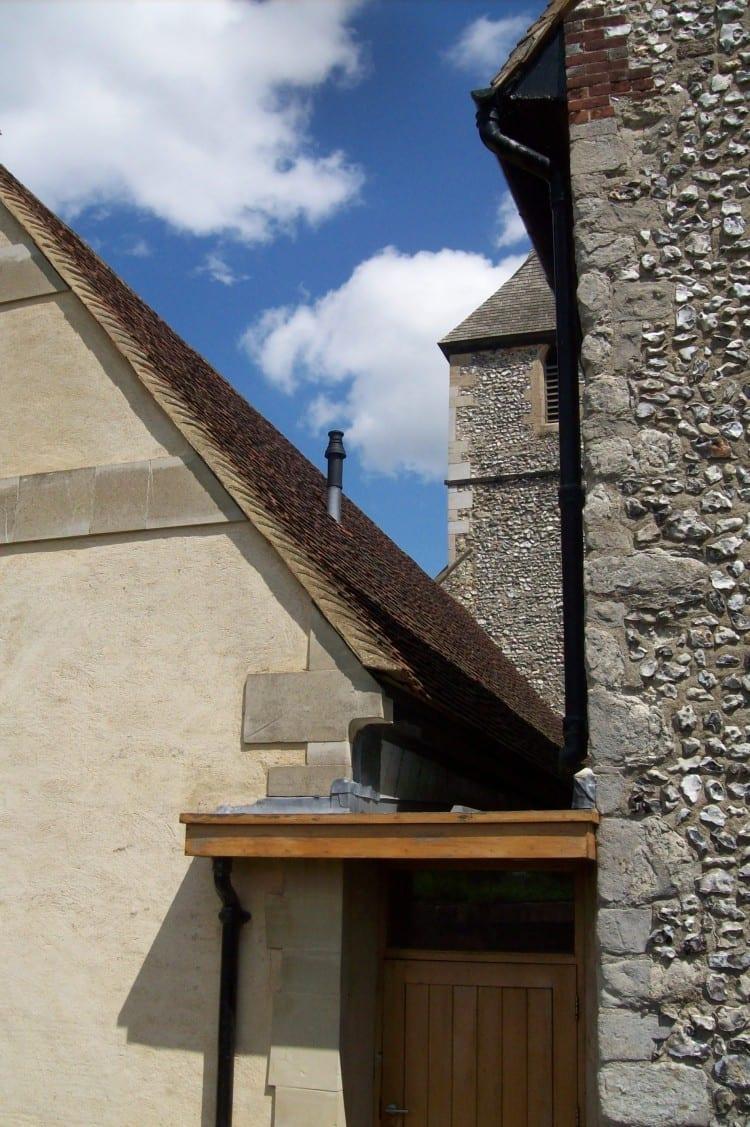 St Martins Chelfield Roof