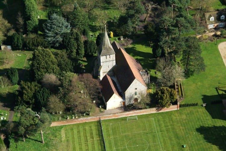 St Martins Chelfield Birdseye View